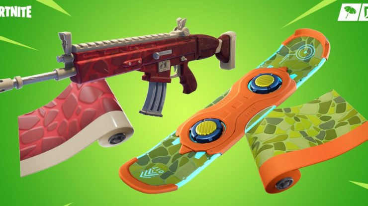 Fortnite: It's Dino Mania In The Store, New Skins, Covers, Skins And