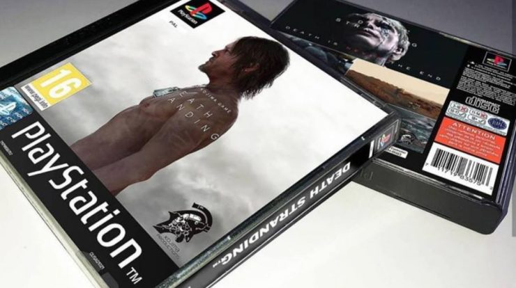 Death Stranding remade as a PSone game is pretty great