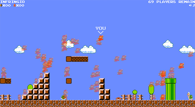 DMCA Royale: The Game Born from the Ashes of Mario Royale Closes to