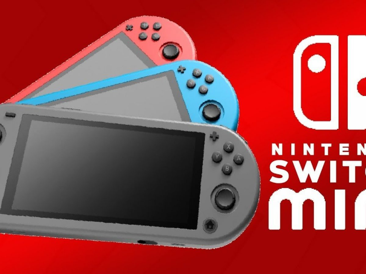 Nintendo Switch Mini Unveiled By Mistake Leak Covers Cases And Films Play Crazy Game