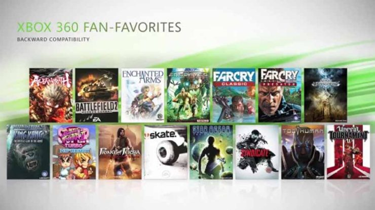 Xbox One: Added 23 Backwards Compatible Games and 8 Xbox One