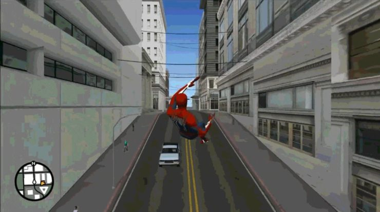 Play GTA San Andreas as Spider-Man? a Modder Takes Care of It!