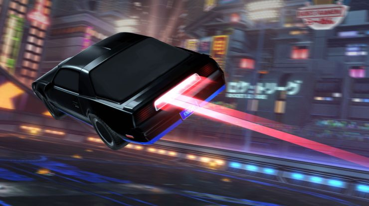 Rocket League: The Package Dedicated to Kitt of Supercar Arrives